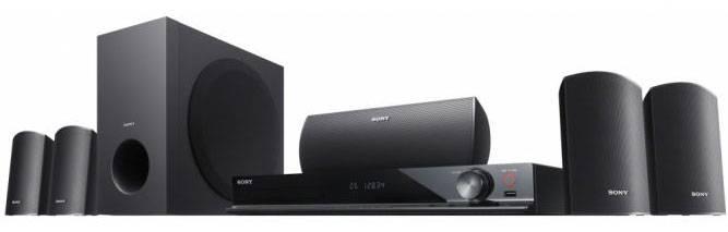 Домашний кинотеатр Sony DAV-DZ340M черный/черный - фото 2