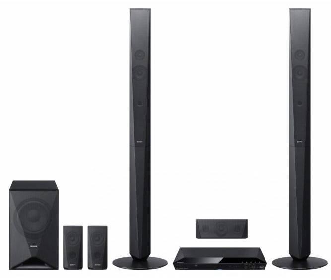 Домашний кинотеатр Sony DAV-DZ650 черный/черный - фото 1