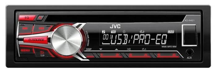 Автомагнитола JVC KD-R451EY - фото 1