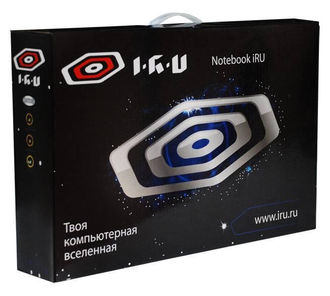 """Ноутбук 15.6"""" IRU Jet 1553 черный - фото 10"""