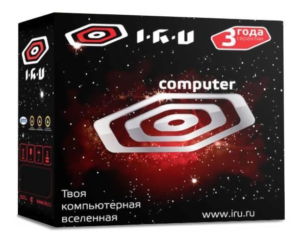 Системный блок IRU Home 325 черный - фото 5