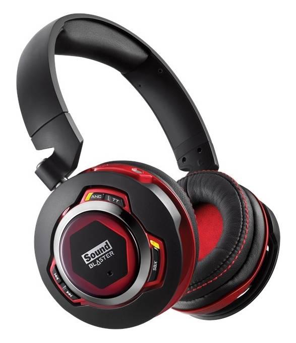 Наушники Creative Sound Blaster EVO ZXR черный/красный - фото 1
