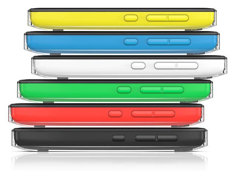 Мобильный телефон Nokia Asha 503 Dual Sim желтый - фото 3