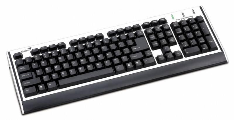 Клавиатура Genius KB06-X2 серебристый - фото 1