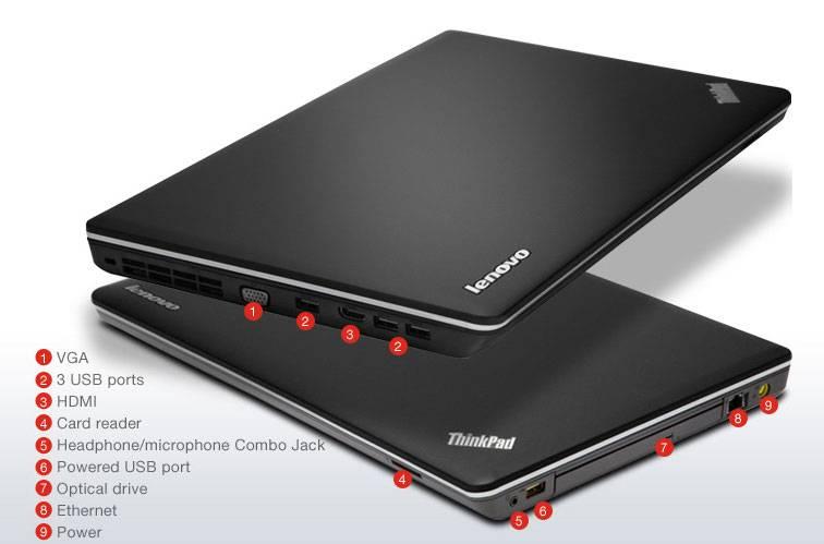 "Ноутбук 15.6"" Lenovo ThinkPad E545 черный - фото 6"