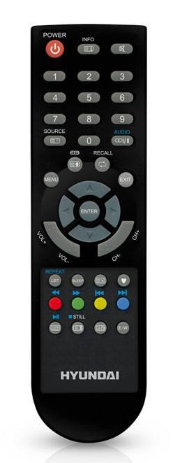 """Телевизор LED 18.5"""" Hyundai H-LED19V15 черный - фото 4"""