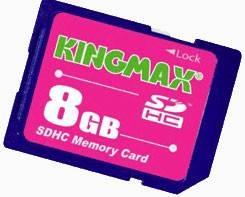 Флеш карта SDHC 8Gb class6 Kingmax