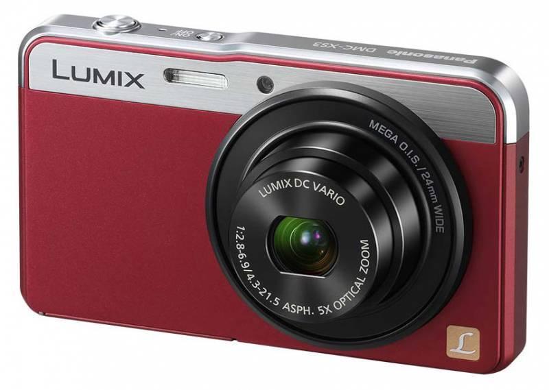 Фотоаппарат Panasonic Lumix DMC-XS3 красный - фото 1