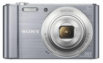 Фотоаппарат Sony Cyber-shot DSC-W810 серебристый (DSCW810S.RU3)