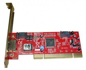 Контроллер PCI SIL3512 RAID 1xE-SATA 2xSATA
