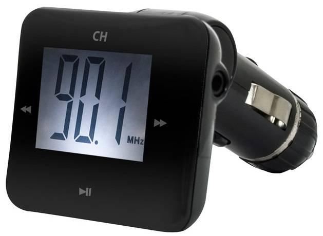 FM-модулятор Ritmix FMT-A730 черный - фото 1