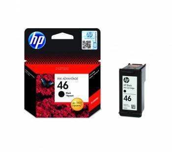 Картридж струйный HP 46 CZ637AE черный