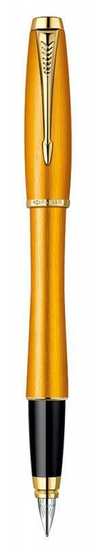 Ручка перьевая Parker Urban Premium F205 Mandarin Yellow (1892540) - фото 2