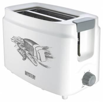 Тостер Mystery MET-2101 белый