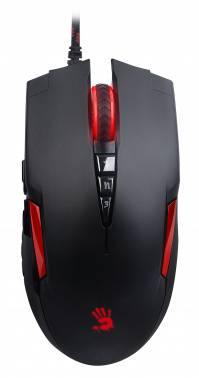 Мышь A4 Bloody V2M черный / красный