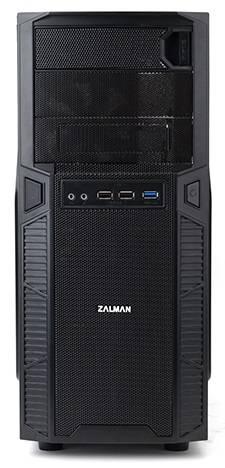 Корпус ATX Zalman ZM-Z1 черный - фото 4