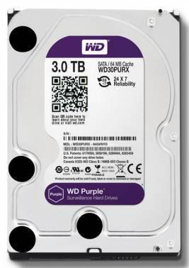 ������� ���� 3Tb WD Purple WD30PURX SATA-III
