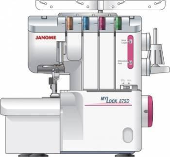 Оверлок Janome MyLock M-875D
