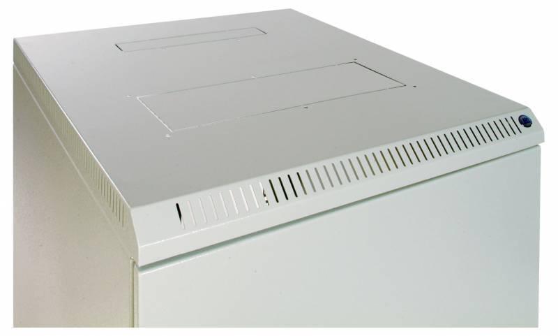 Шкаф коммутационный ЦМО ШРН-12.480.1 12U серый - фото 4