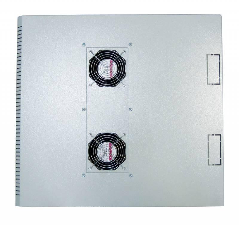 Шкаф коммутационный ЦМО ШРН-12.480.1 12U серый - фото 6