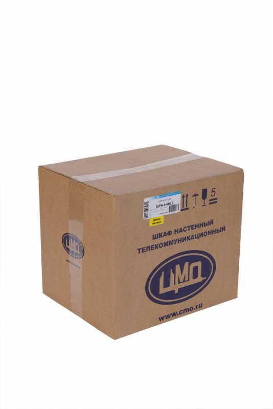 Шкаф коммутационный ЦМО ШРН-12.480.1 12U серый - фото 8