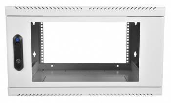 Шкаф настенный ЦМО ШРН-6.300 6U серый