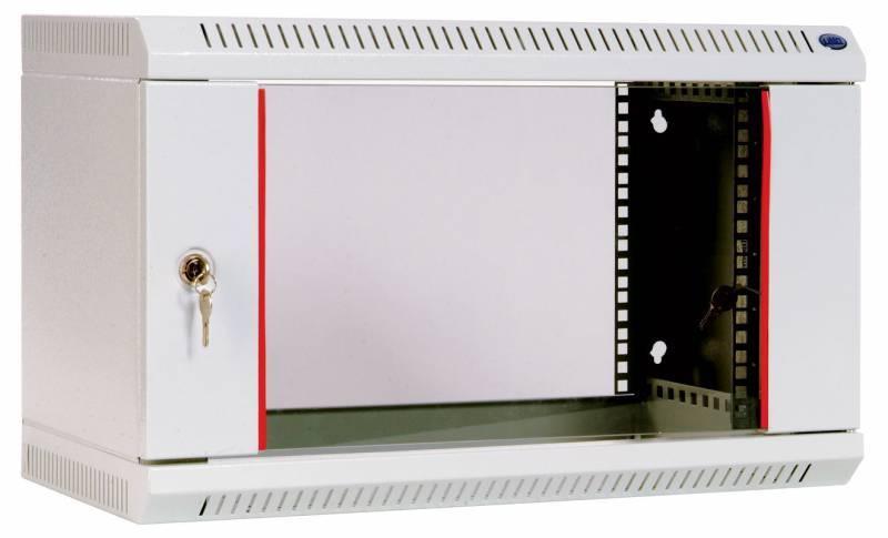 Шкаф коммутационный ЦМО ШРН-6.650 6U серый - фото 1