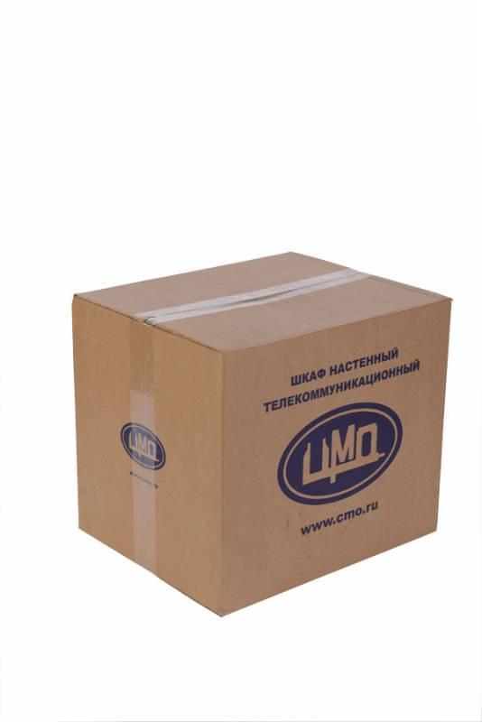 Шкаф коммутационный ЦМО ШРН-6.650 6U серый - фото 3