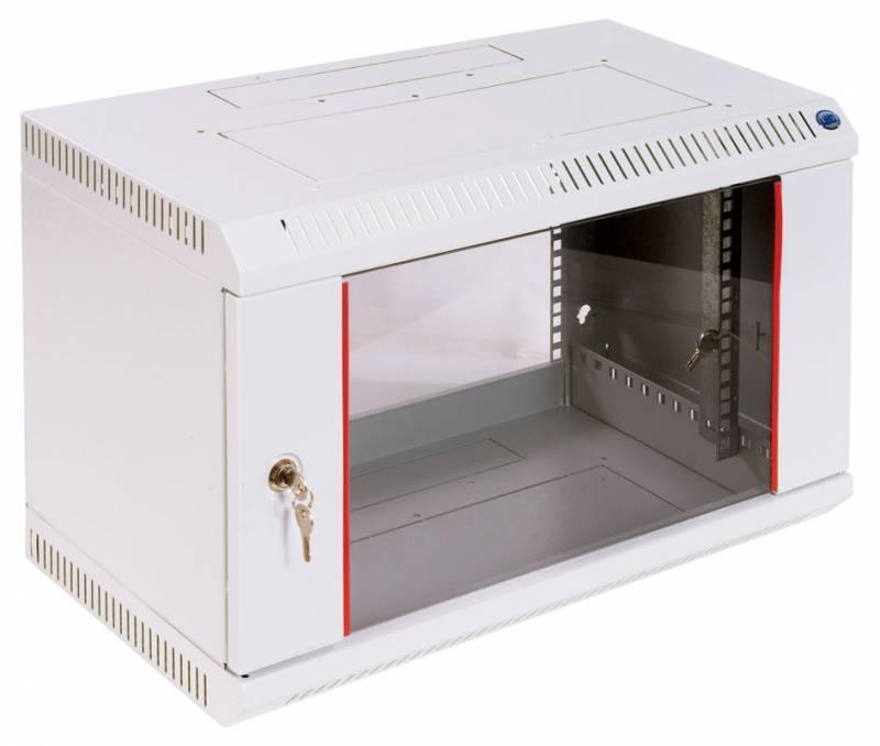 Шкаф коммутационный ЦМО ШРН-6.650 6U серый - фото 4