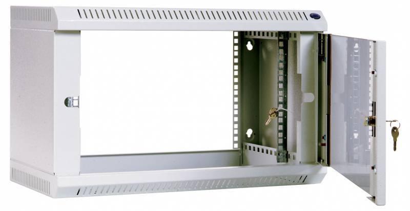 Шкаф коммутационный ЦМО ШРН-6.650 6U серый - фото 5