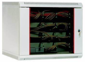 Шкаф настенный ЦМО ШРН-9.300 9U серый
