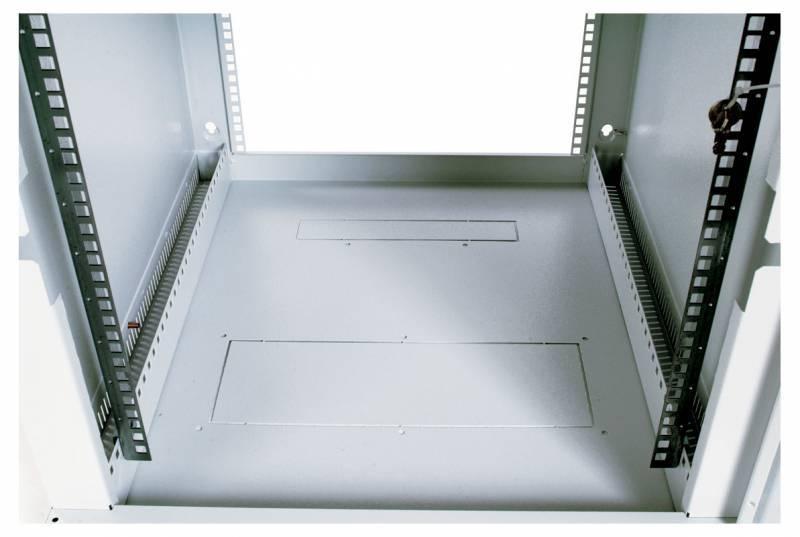 Шкаф коммутационный ЦМО ШРН-9.300 9U серый - фото 4