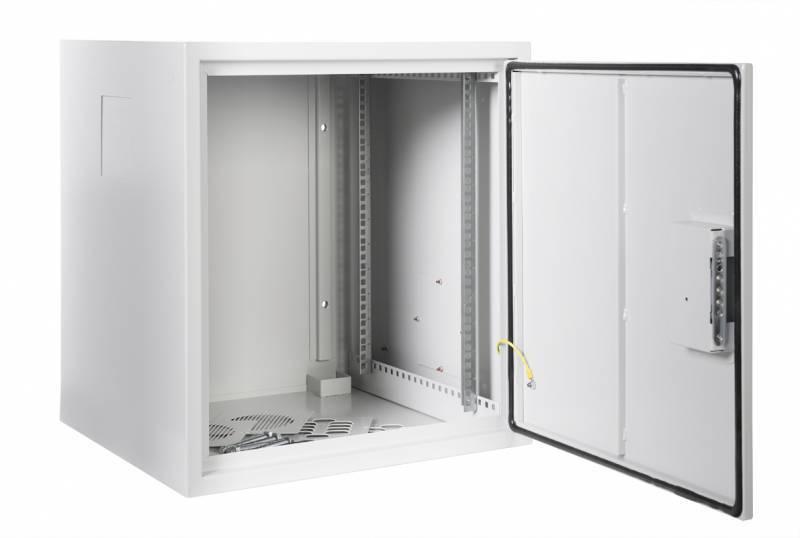 Шкаф коммутационный ЦМО ШРН-А-12.520 12U серый - фото 2