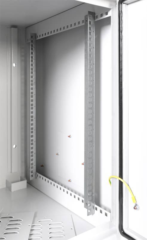 Шкаф коммутационный ЦМО ШРН-А-12.520 12U серый - фото 3