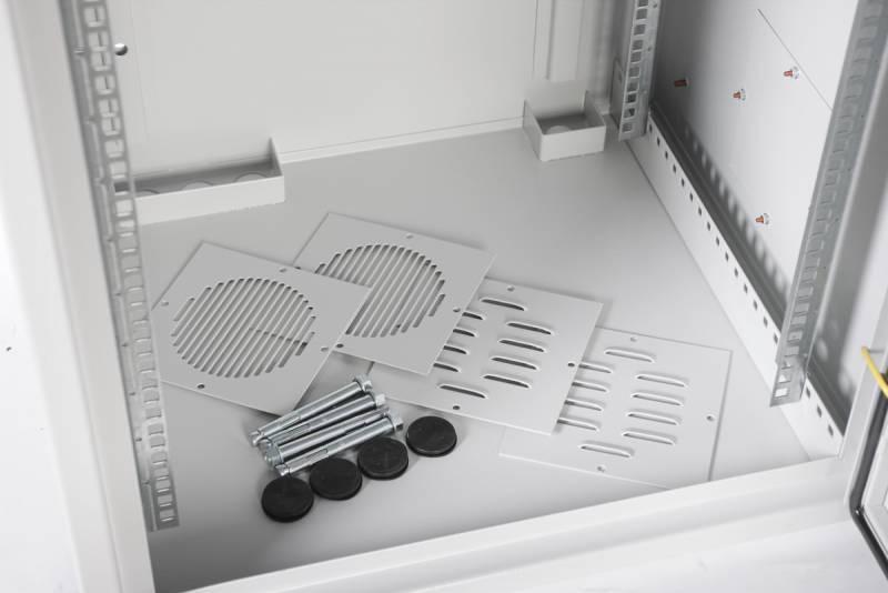 Шкаф коммутационный ЦМО ШРН-А-12.520 12U серый - фото 4
