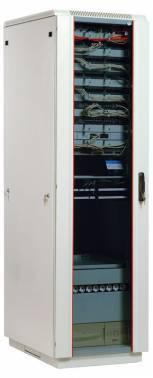 Шкаф коммутационный ЦМО ШТК-М-33.6.10-1ААА 33U серый