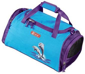 Сумка спортивная Step By Step Happy Dolphins голубой/фиолетовый (00119708) - фото 1