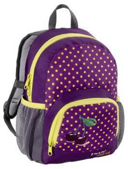 Рюкзак детский Step By Step Junior Dressy Purple cherry фиолетовый / желтый
