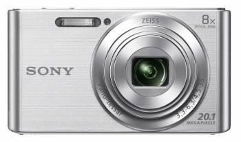 Фотоаппарат Sony Cyber-shot DSC-W830 серебристый