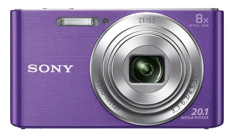 Фотоаппарат Sony Cyber-shot DSC-W830 фиолетовый - фото 1
