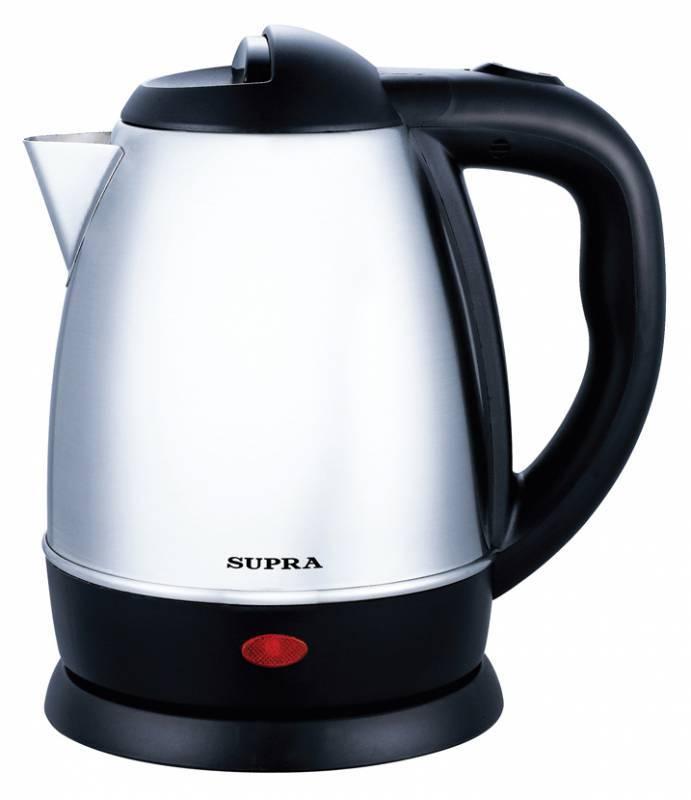 Чайник электрический Supra KES-1231C серебристый (5492) - фото 1