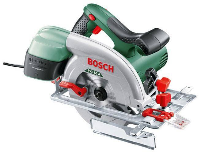 Циркулярная пила Bosch PKS 55 A (0603501020) - фото 1