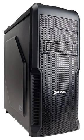 Корпус ATX Zalman Z3 черный - фото 1
