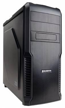Корпус Zalman Z3 черный, w/o PSU, нижнее расположение БП, форм-фактор ATX, длина видеокарты до 320мм, 1x120mm, разъемы 2xUSB2.0, 1xUSB3.0, audio