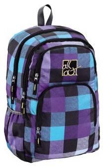Рюкзак All Out Kilkenny Caribbean Check голубой / фиолетовый / черный