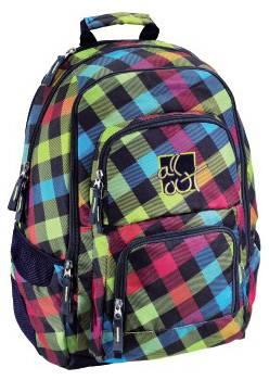 Рюкзак All Out Louth Rainbow Check розовый / зеленый