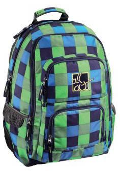 Рюкзак All Out Louth Pool Check зеленый / голубой