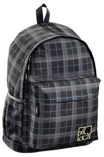 Рюкзак All Out Luton Harvest Check серый / черный