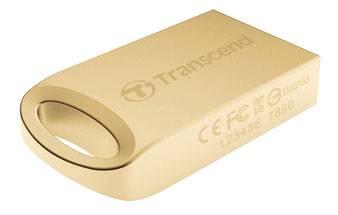 Флеш диск Transcend Jetflash 510 8ГБ USB2.0 золотистый - фото 1