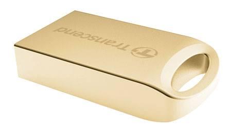 Флеш диск Transcend Jetflash 510 8ГБ USB2.0 золотистый - фото 2